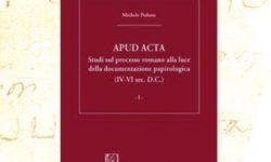 """Presentazione del libro """"Apud acta"""""""